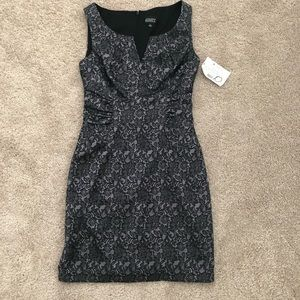NWT Lavender and Black dress
